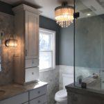 master bath chandalier