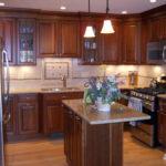 traditional cherry kitchen