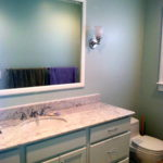 updated powder room