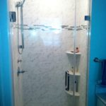 small shower seems larger