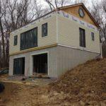 pool house siding